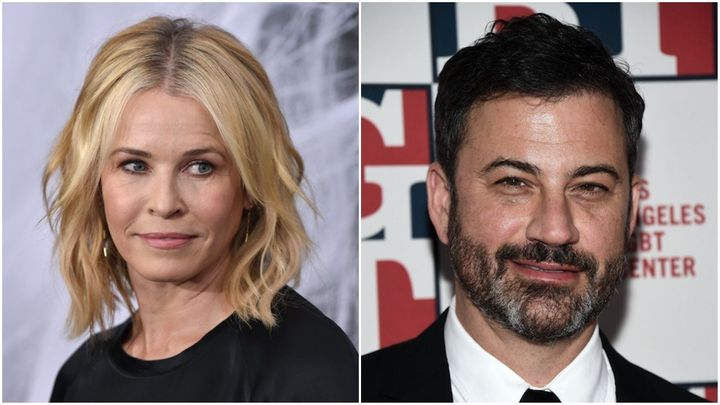 "Chelsea Handler and Jimmy Kimmel have both come under fire for ""bottom"" jokes."