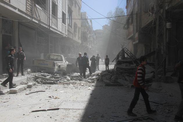 Syrie: Ce que l'on sait sur les bombardements chimiques sur