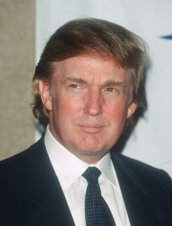 Donald Trump, seen in 1999, had argued against a law to mandate fire sprinklers in all high-rise residential units&