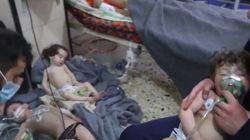 트럼프가 시리아 정부군의 '화학무기 공격'을 맹비난했다