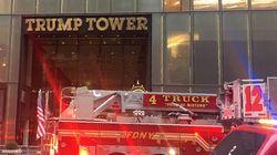 뉴욕 트럼프 타워 화재로 1명이