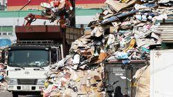 """재활용단체들이 """"재활용 쓰레기 대란은 끝나지 않았다""""고"""