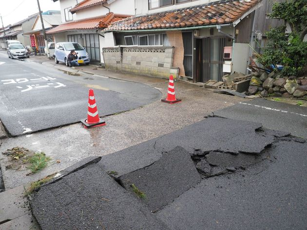 Σεισμός 6,1 βαθμών της κλίμακας Ρίχτερ στη δυτική Ιαπωνία. Αναφορές για