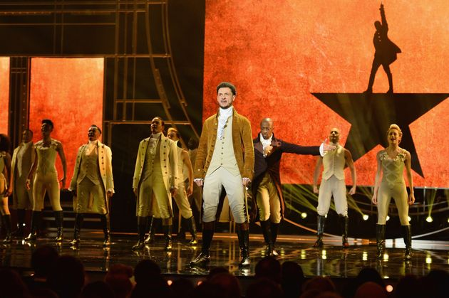 Members of the 'Hamilton' cast also performed on the