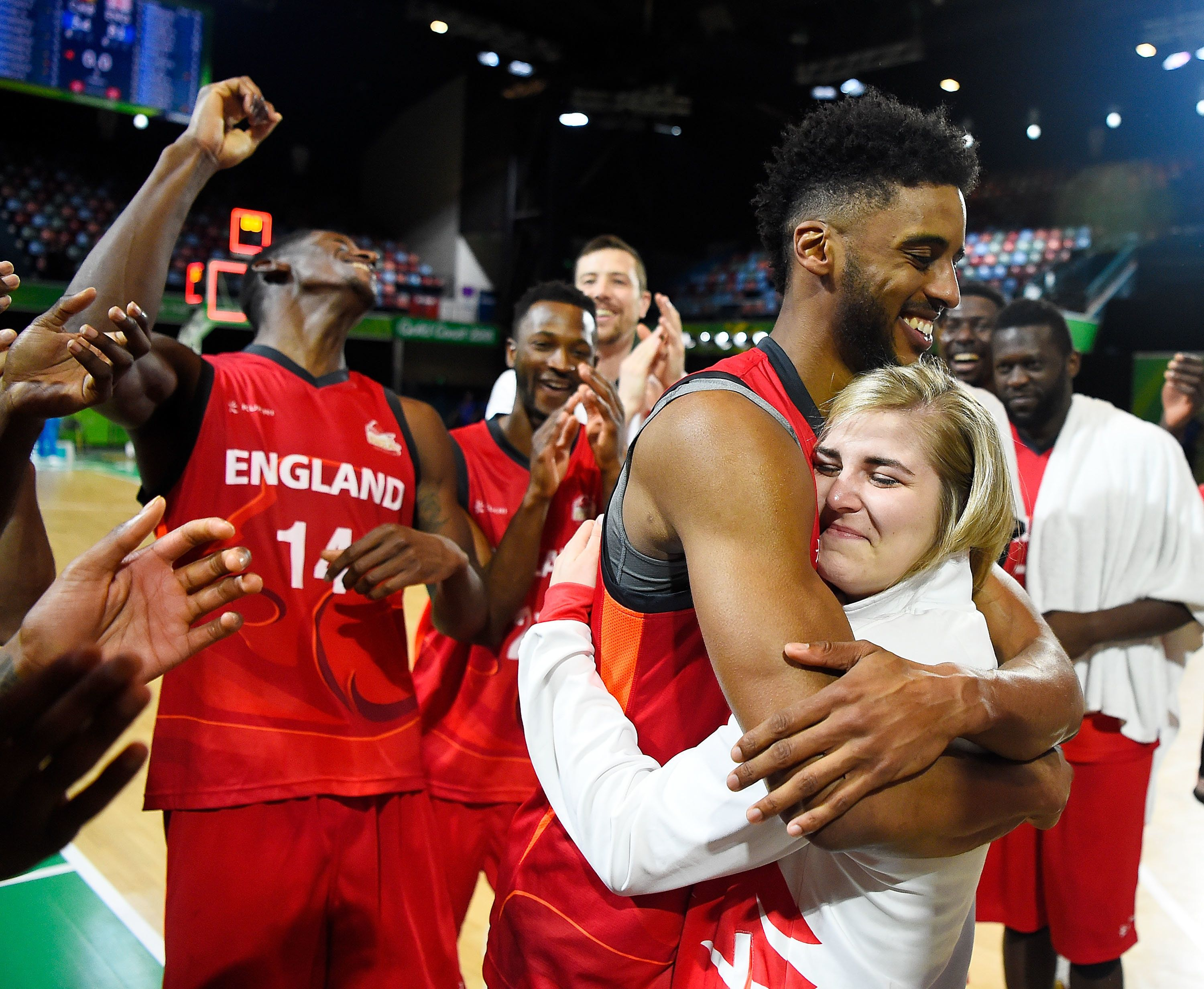 Two England Basketball Players Got Engaged At The Commonwealth