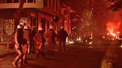 Επίθεση με μολότοφ εναντίον αστυνομικών στην Χαρ.