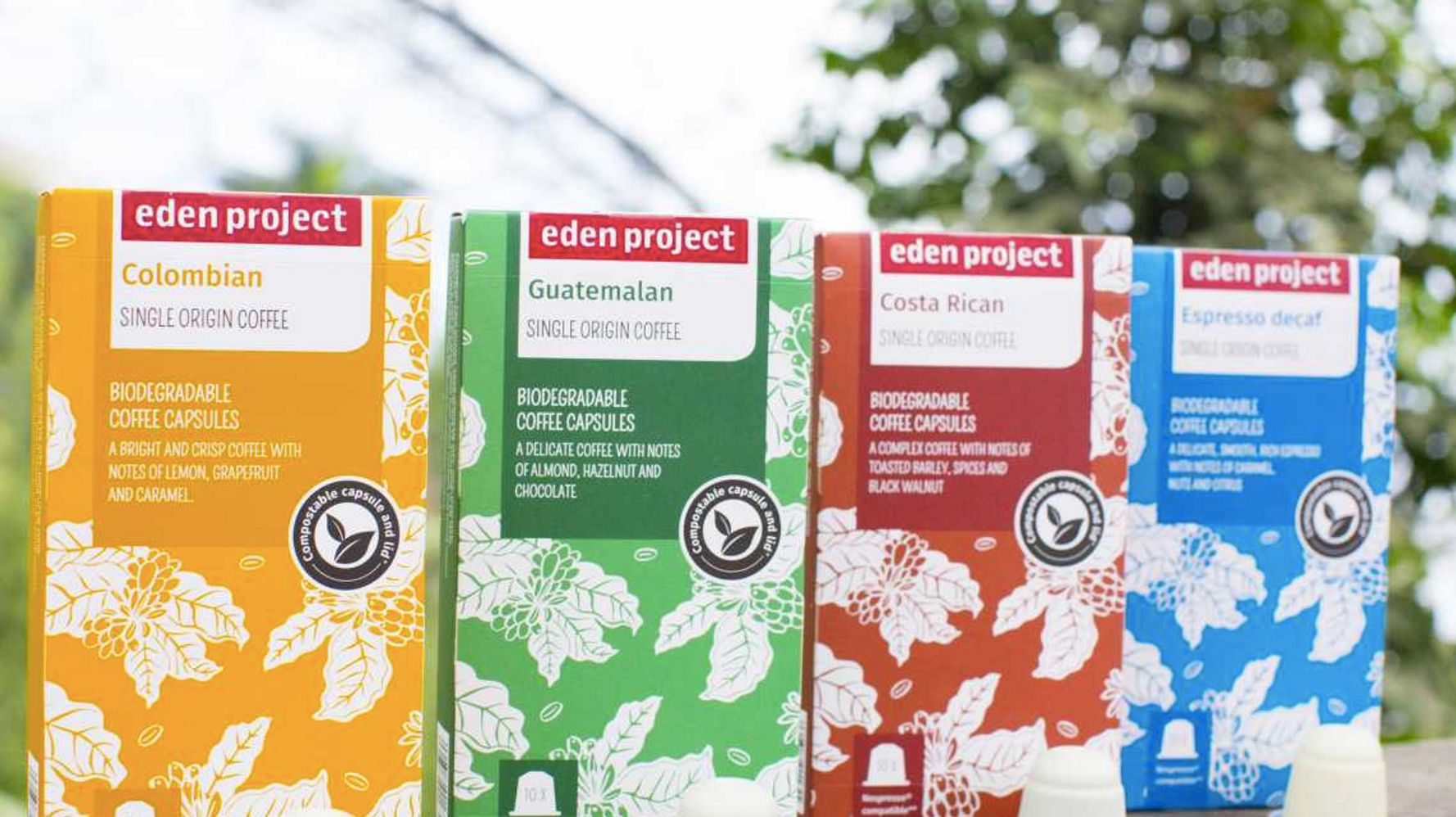Eden Projects Compostable Coffee Pods Will Make Your Cuppa