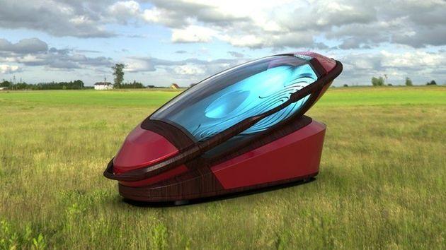 Der Sarco kann überall hin transportiert