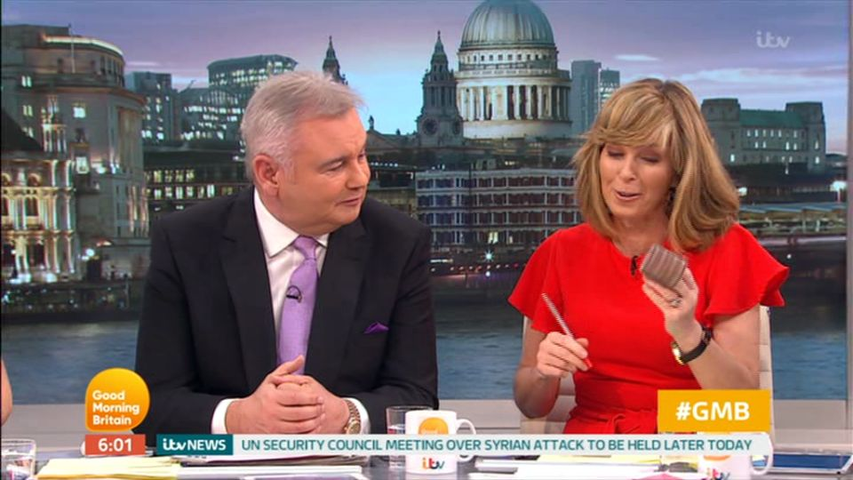 Good Morning Britain's Kate Garraway Mortified After On-Air Hair