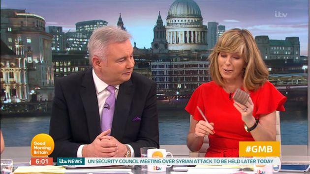 Kate Garraway suffered embarrassment on 'Good Morning