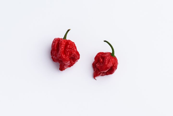 The Carolina Reaper is small but deadly.
