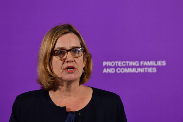 Amber Rudd launched the government's new violent crime strategy