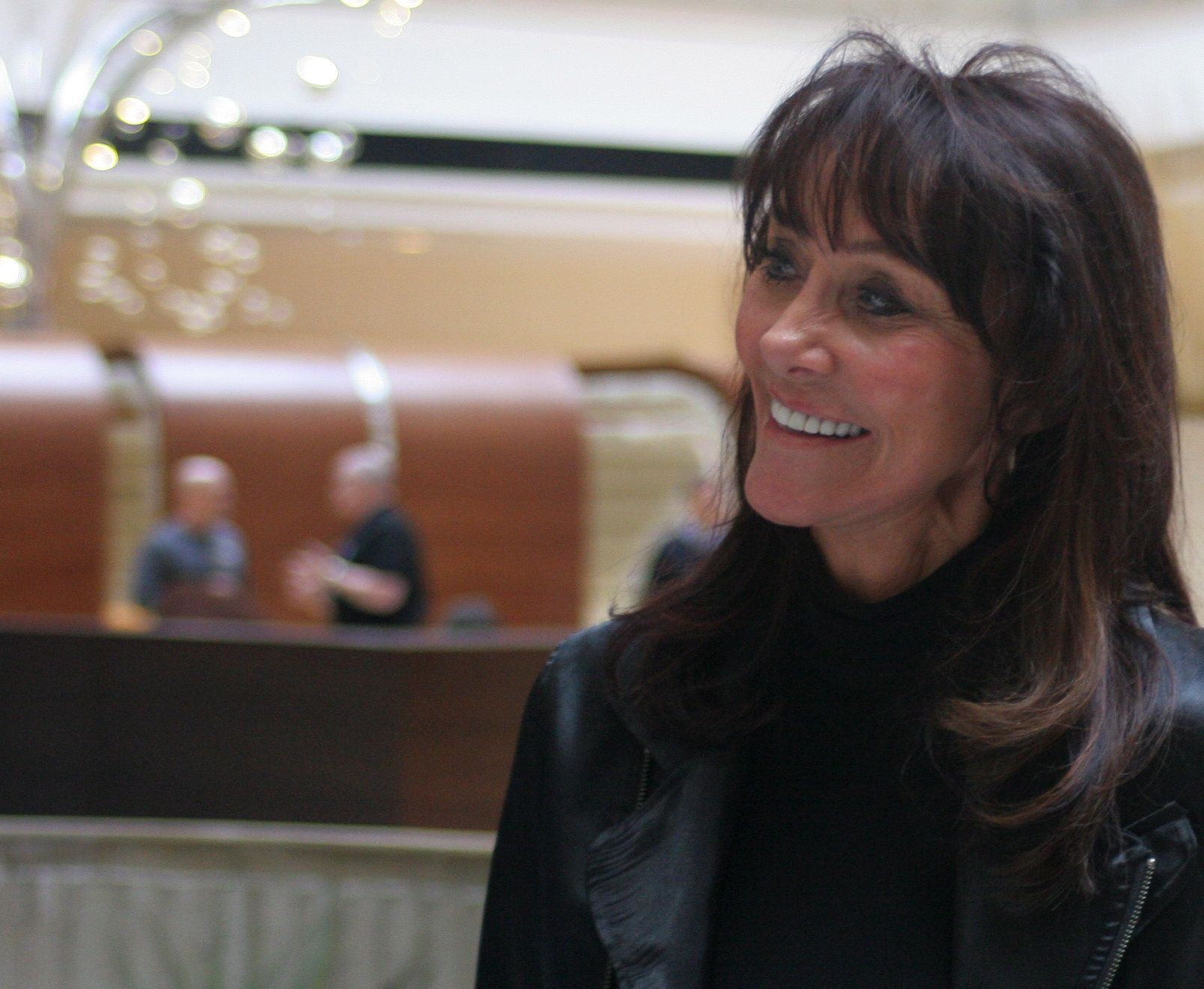 Billionaire Diane Hendricks (above) is supporting Leah Vukmir in Wisconsin's GOP Senate primary.