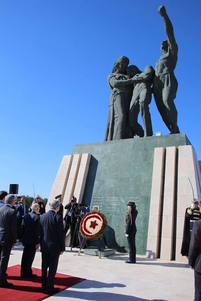 Cérémonie au Carré des martyrs en commémoration des évènements du 9 avril