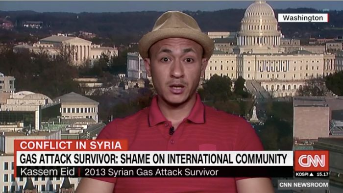 2013 Syrian Gas Attack Survivor: Whole World 'Should Be