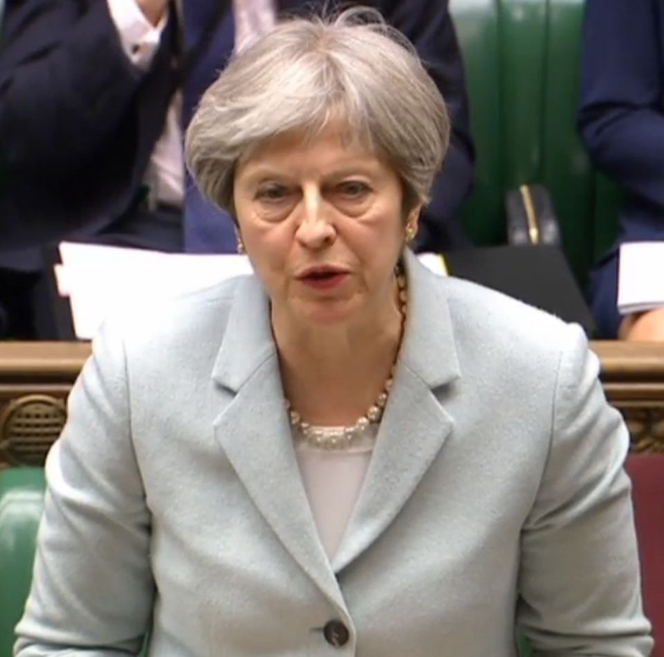 Theresa May'sminority government relies on Democratic Unionist support in key Westminster