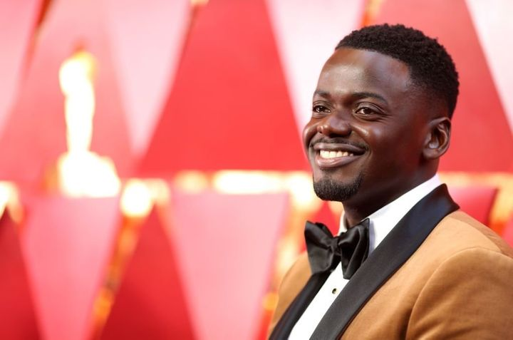 Daniel Kaluuya attends the 90th Annual Academy Awards wearing Fenty BeautyPro Filt'r Soft Matte Longwear Foundation.&nb