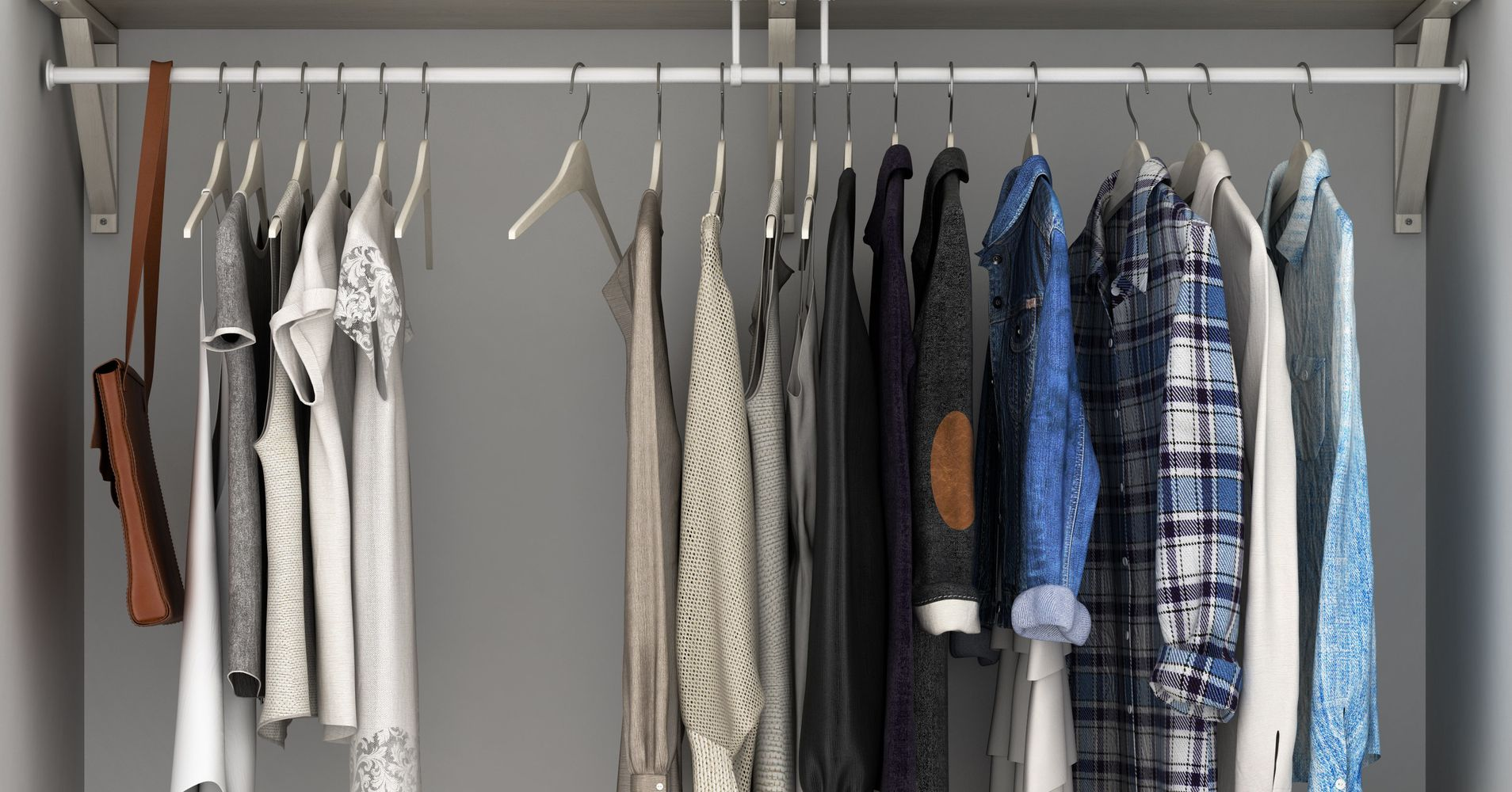 8 Ways To Store Your Clothes Without A Closet Huffpost