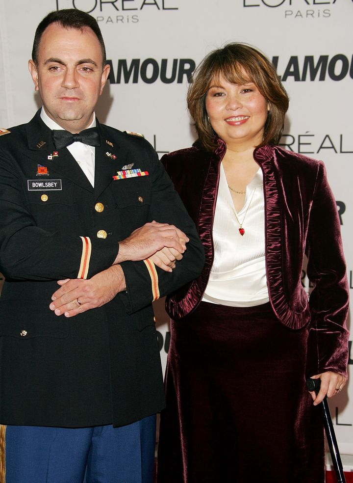 Duckworth and her husband, Army Cyber Warrant Officer Bryan Bowlsbey, now have two daughters.