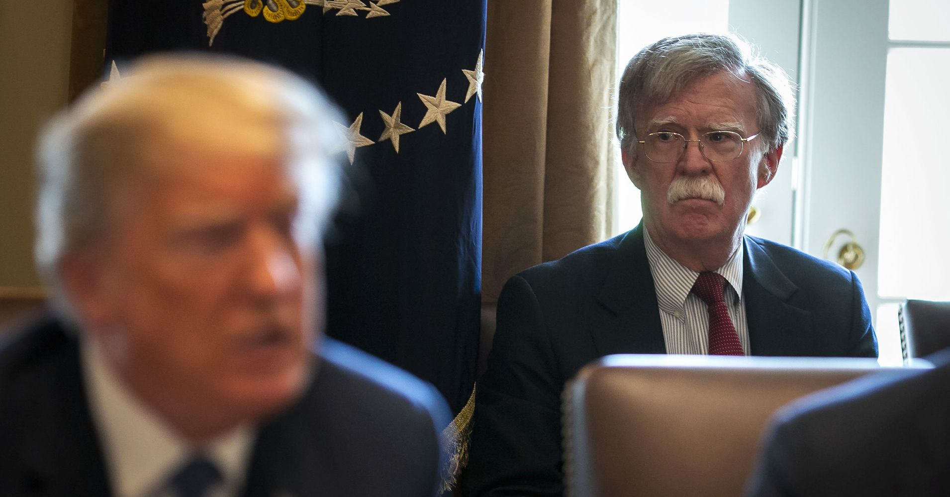 Bolton Arrives At White House, And National Security Staff Start Leaving | HuffPost