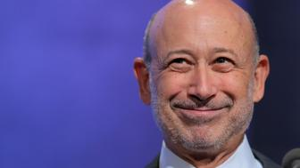 NEW YORK, NY - SEPTEMBER 24:  CEO of Goldman Sachs Lloyd Blankfein speaks on the fourth day of the Clinton Global Initiative's 10th Annual Meeting at the Sheraton New York Hotel & Towers on September 24, 2014 in New York City.  (Photo by Jemal Countess/Getty Images)