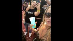 Feiernde Frauen drehen Selfie-Video –und fangen gruseligen Moment
