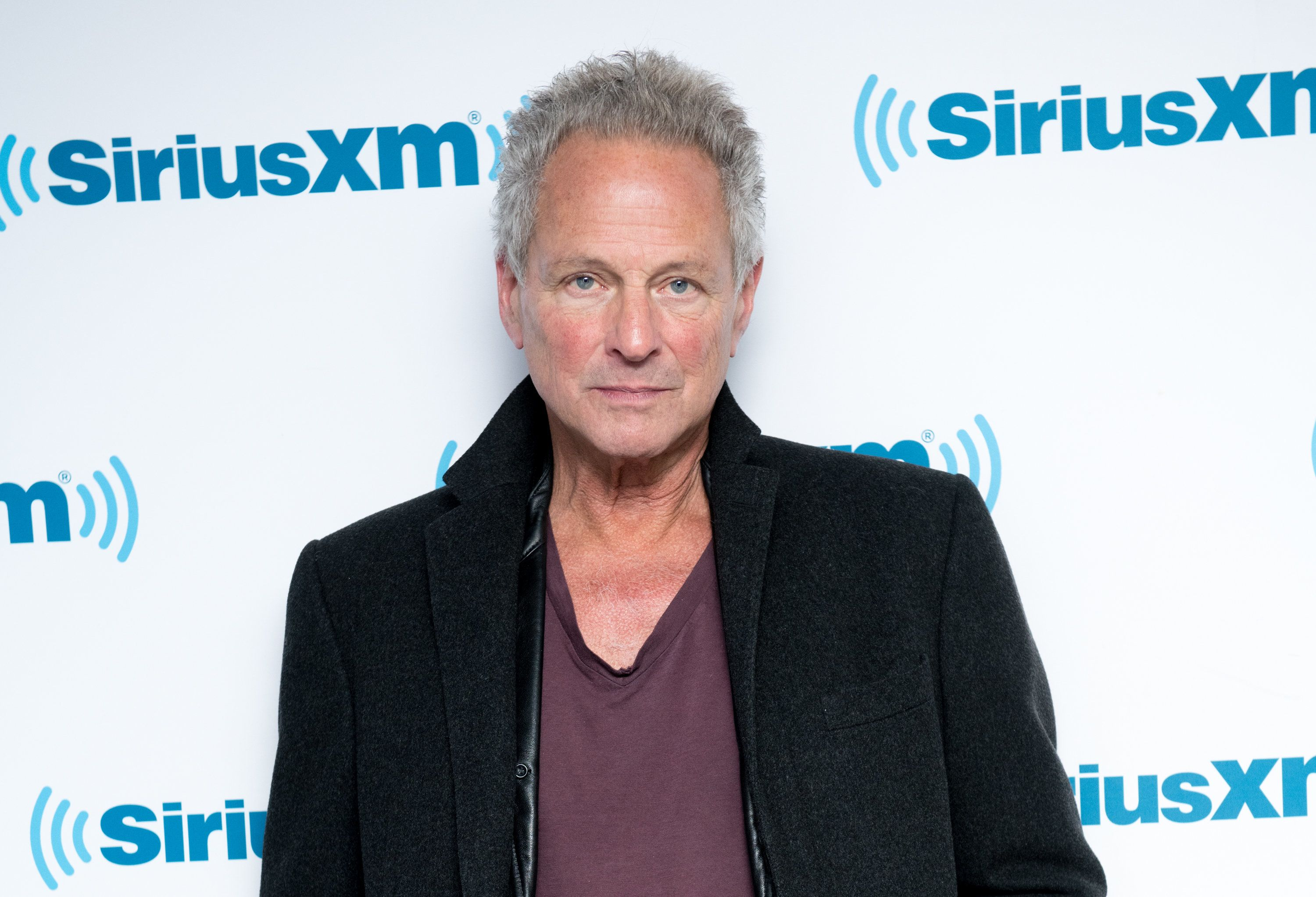 NEW YORK, NY - JANUARY 23:  Lindsey Buckingham visits the SiriusXM Studios on January 23, 2018 in New York City.  (Photo by Noam Galai/Getty Images)