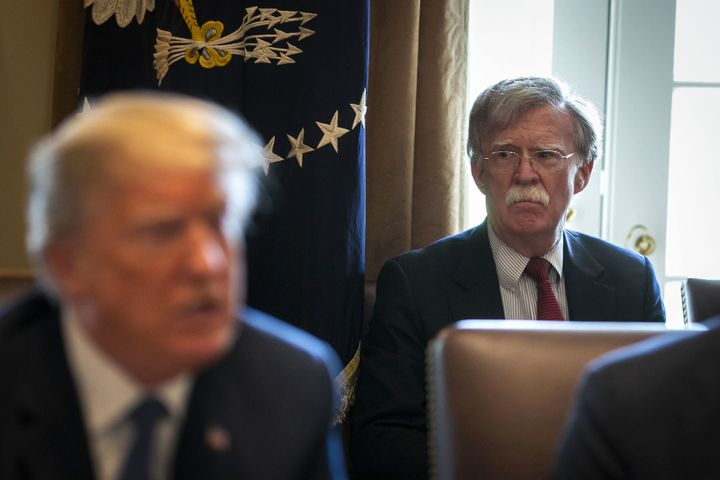 Bolton Arrives At White House, And National Security Staff Start Leaving