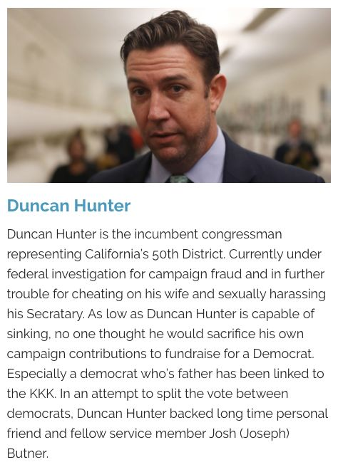 Claims made on the DuncanButner.com website.
