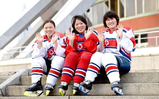 평창 아이스하키 단일팀 북한 선수들이 추억담을