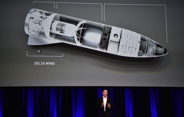 일론 머스크가 만들고 있는 '화성여행 우주선'의