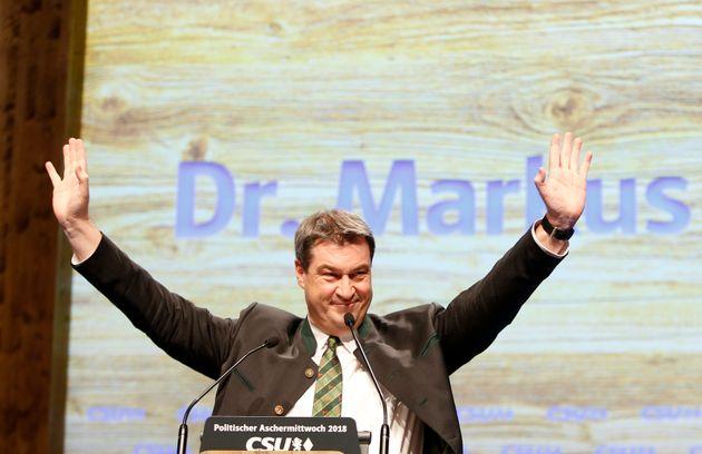 Bayerns Ministerpräsident Markus