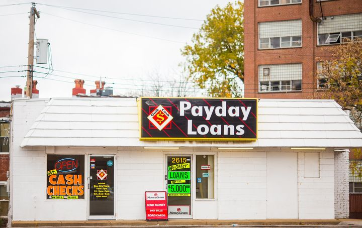 An estimated 2.5 million American households take out payday loans every year.