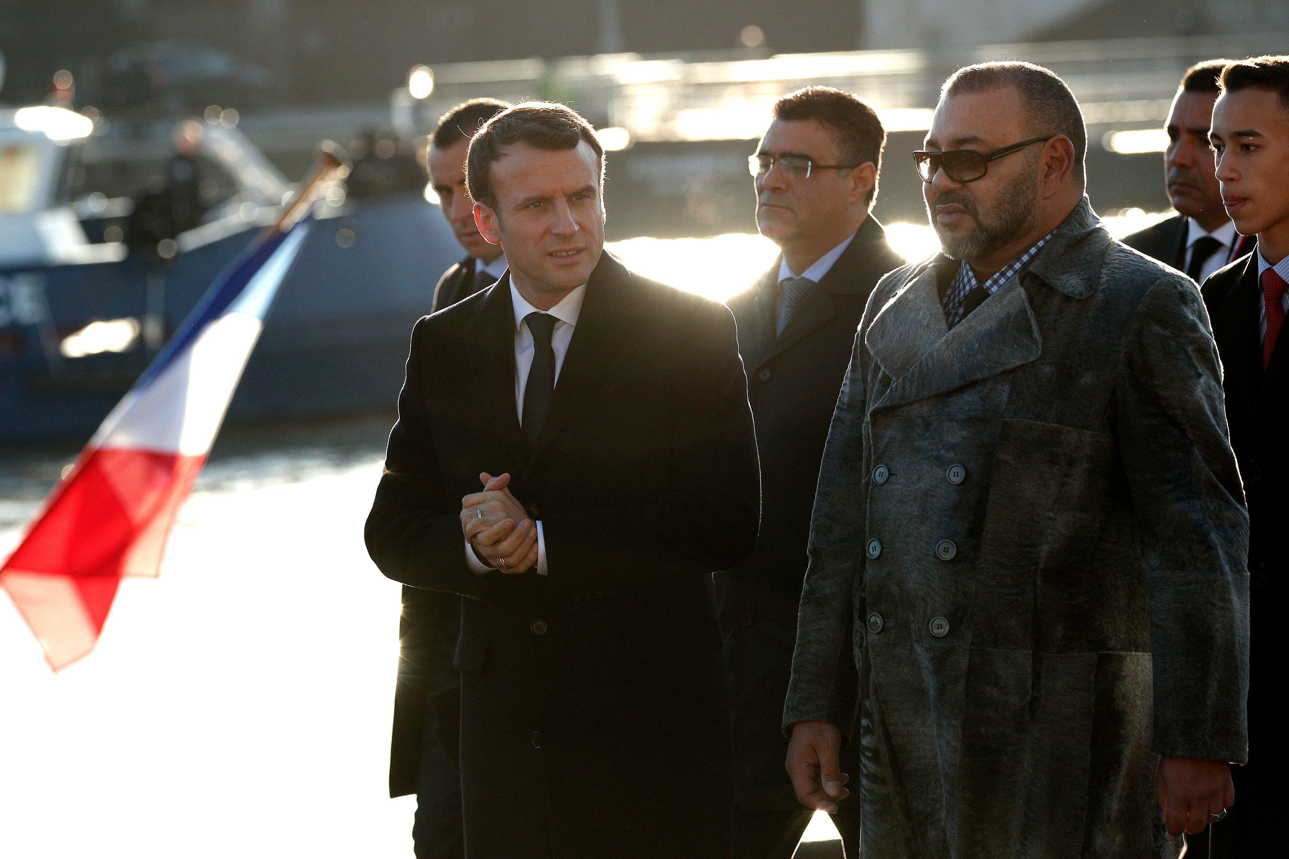 Entretien programmé ce mardi entre Emmanuel Macron et le roi Mohammed