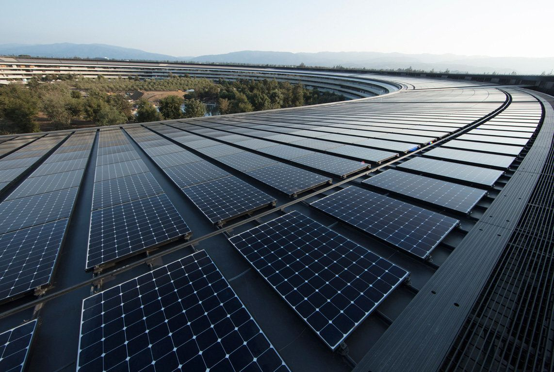 Apple Is Now Completely Powered By Renewable Energy