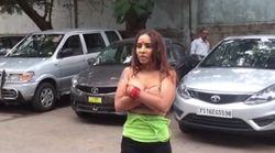 Cette actrice indienne a voulu suivre le mouvement