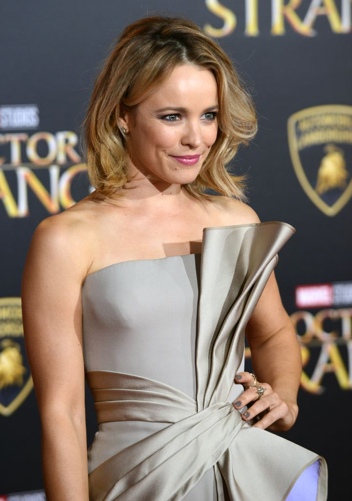 Actress Rachel McAdams arrives for the premiere of 'Doctor Strange.'