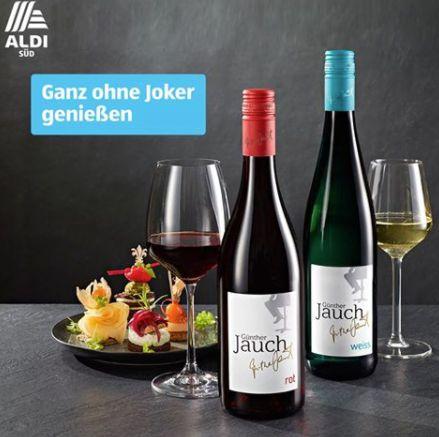 Aldi preist neuen Wein von Günther Jauch an – Facebook-Nutzer reagieren