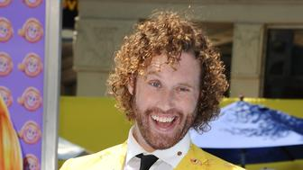 WESTWOOD, CA - JULY 23:  Actor T.J. Miller attends the premiere of 'The Emoji Movie' at Regency Village Theatre on July 23, 2017 in Westwood, California.  (Photo by Jason LaVeris/FilmMagic)