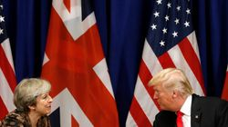 Theresa May Agrees On 'Need To Respond' To Syria Chemical Attack With Trump And Macron
