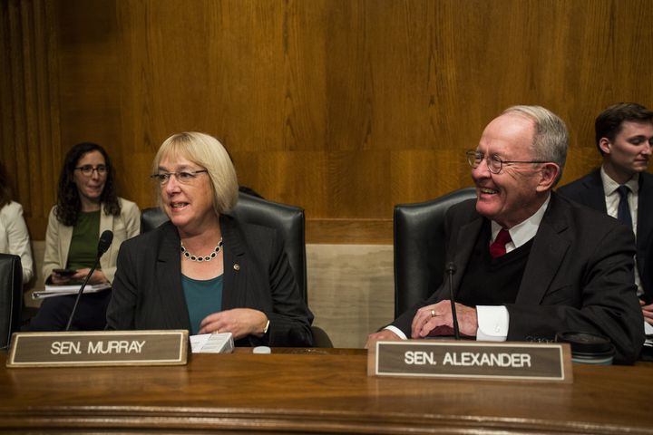 Sen. Patty Murray (D-Wash.) is pressing Sen. Lamar Alexander (R-Tenn.), chairman of the Health, Education, Labor and Pensions