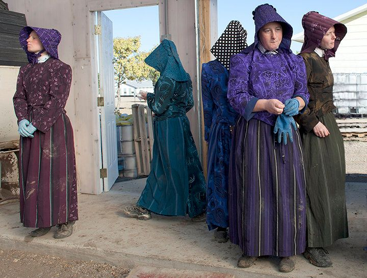 Photographer Jill Brody got a rare glimpse into reclusive Hutterite colonies in Montana.