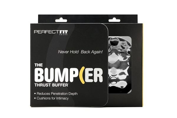"""""""The<a href=""""https://perfectfitbrand.com/the-bumper.html/"""" target=""""_blank"""">Bumper</a> is made bya company called"""