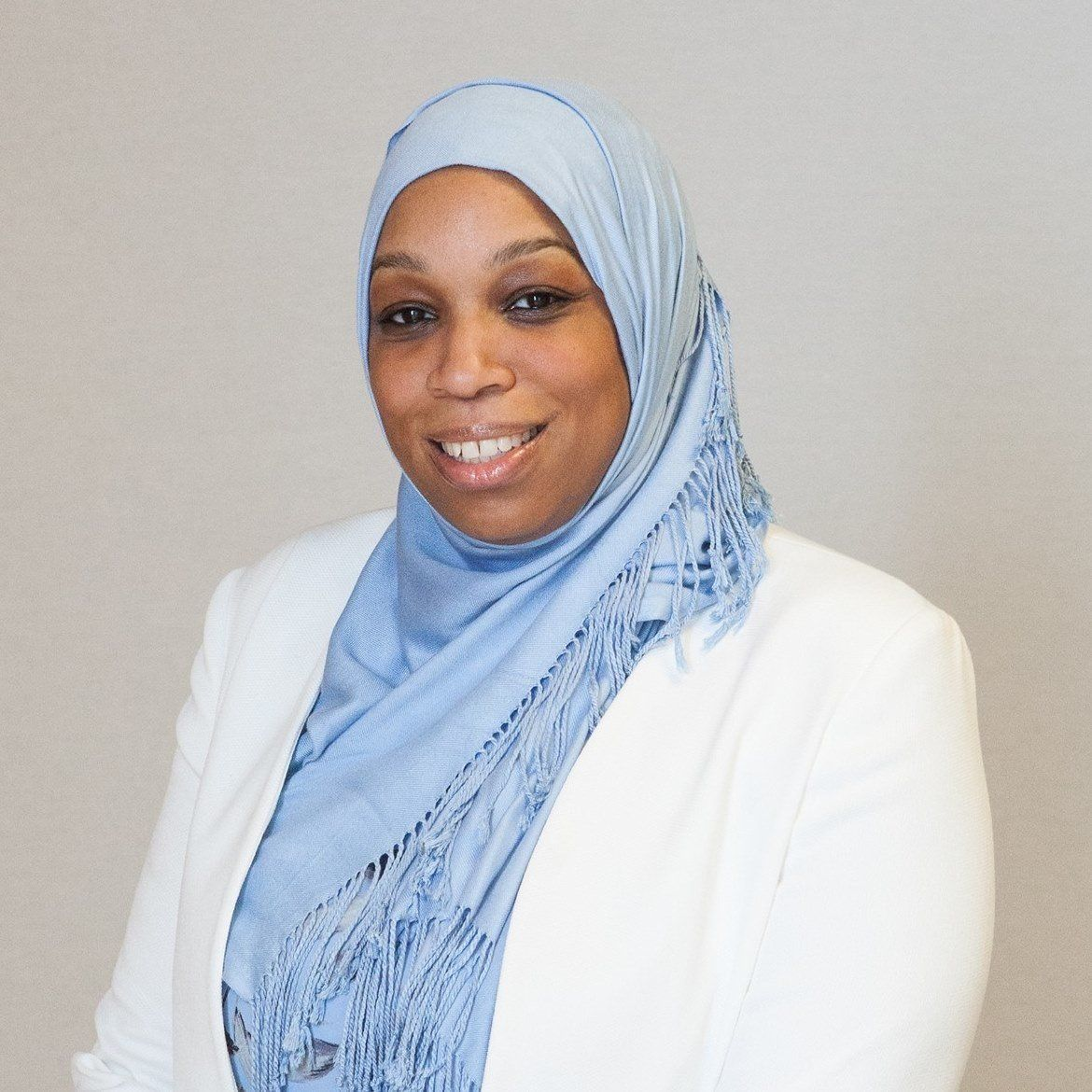 "Tahirah Amatul-Wadud says she's often asked, ""How will you work with white people?"""