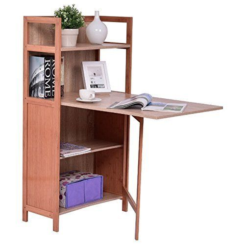 """This multipurpose piece can be used as a study desk and book shelf. Get it on <a href=""""https://www.amazon.com/Convertible-Mul"""