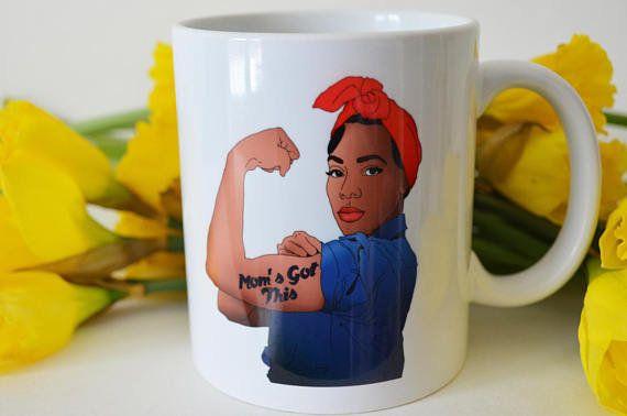 "Get it on <a href=""https://www.etsy.com/listing/521674053/feminist-mug-moms-got-this-mug-feminist?ga_order=most_relevant&"