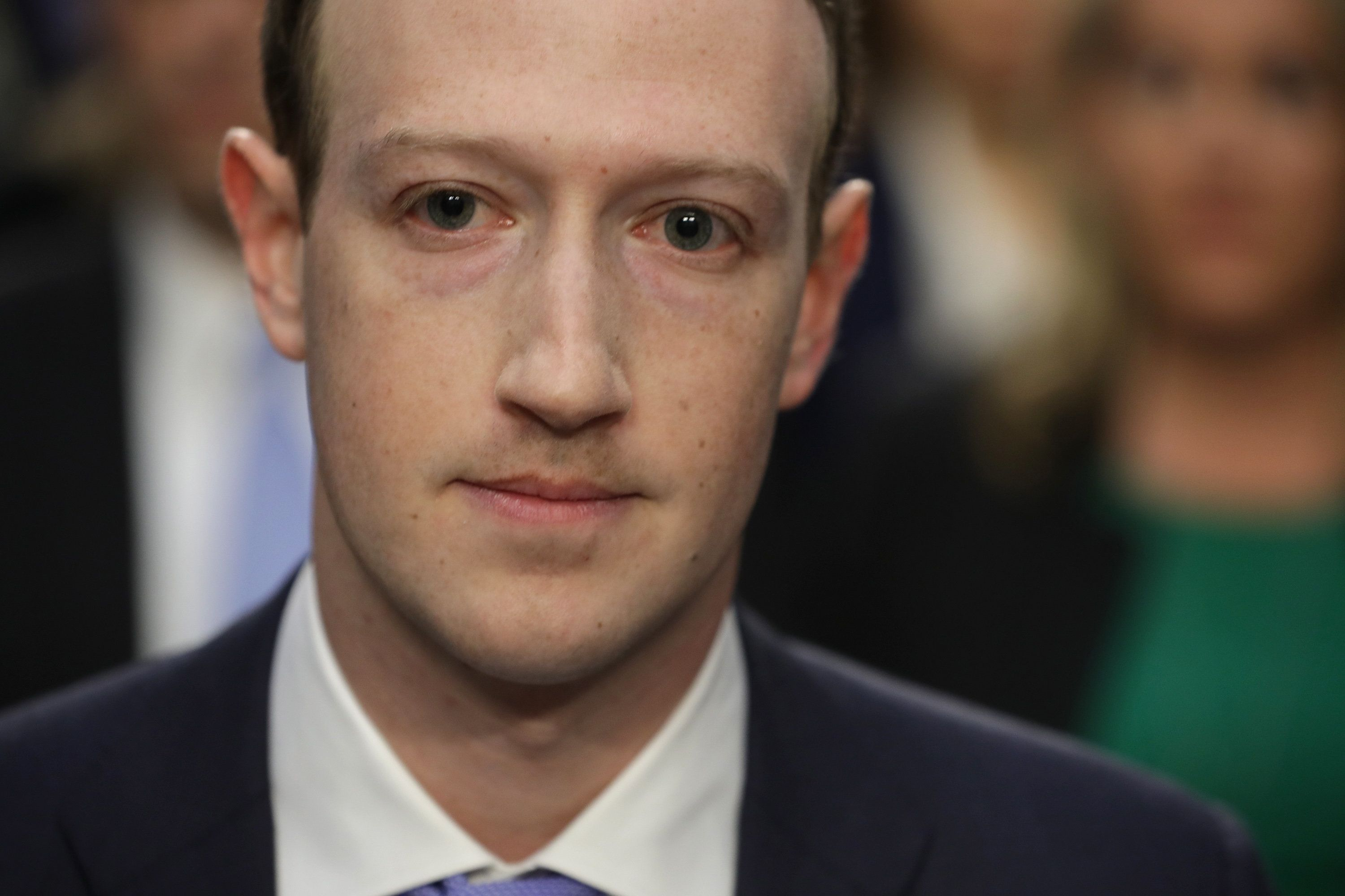 Mark Zuckerburg's Testimony To Congress Mocked For Confused Questions And That Resting