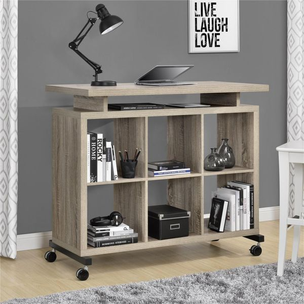 Use it as a stand-out storage piece in your entry way and roll it over to your preferred space in the home when you want to u