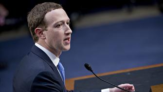 Mark Zuckerberg, chief executive officer and founder of Facebook Inc., speaks during a joint hearing of the Senate Judiciary and Commerce Committees in Washington, D.C., U.S., on Tuesday, April 10, 2018. Zuckerberg said Tuesday that his company is cooperating with Special Counsel Robert Mueller in his investigation of Russian interference in the 2016 presidential election. Photographer: Andrew Harrer/Bloomberg via Getty Images