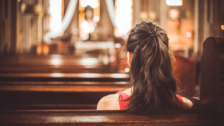 Protestant youth are more likely than Catholics of the same age to say they've attended church in any given week.